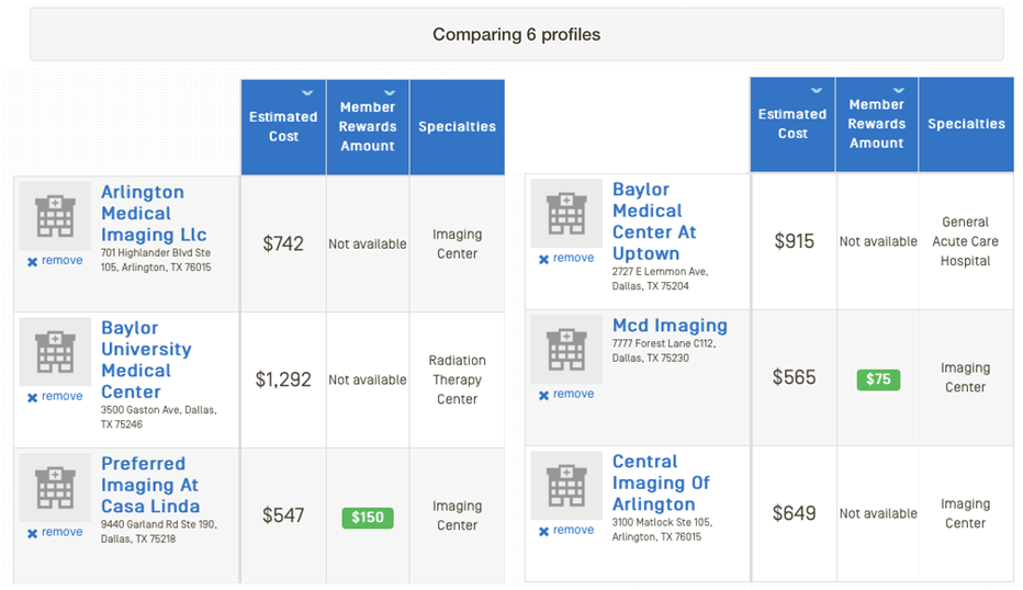 Estimate Costs and Find Doctors & Hospitals with Provider