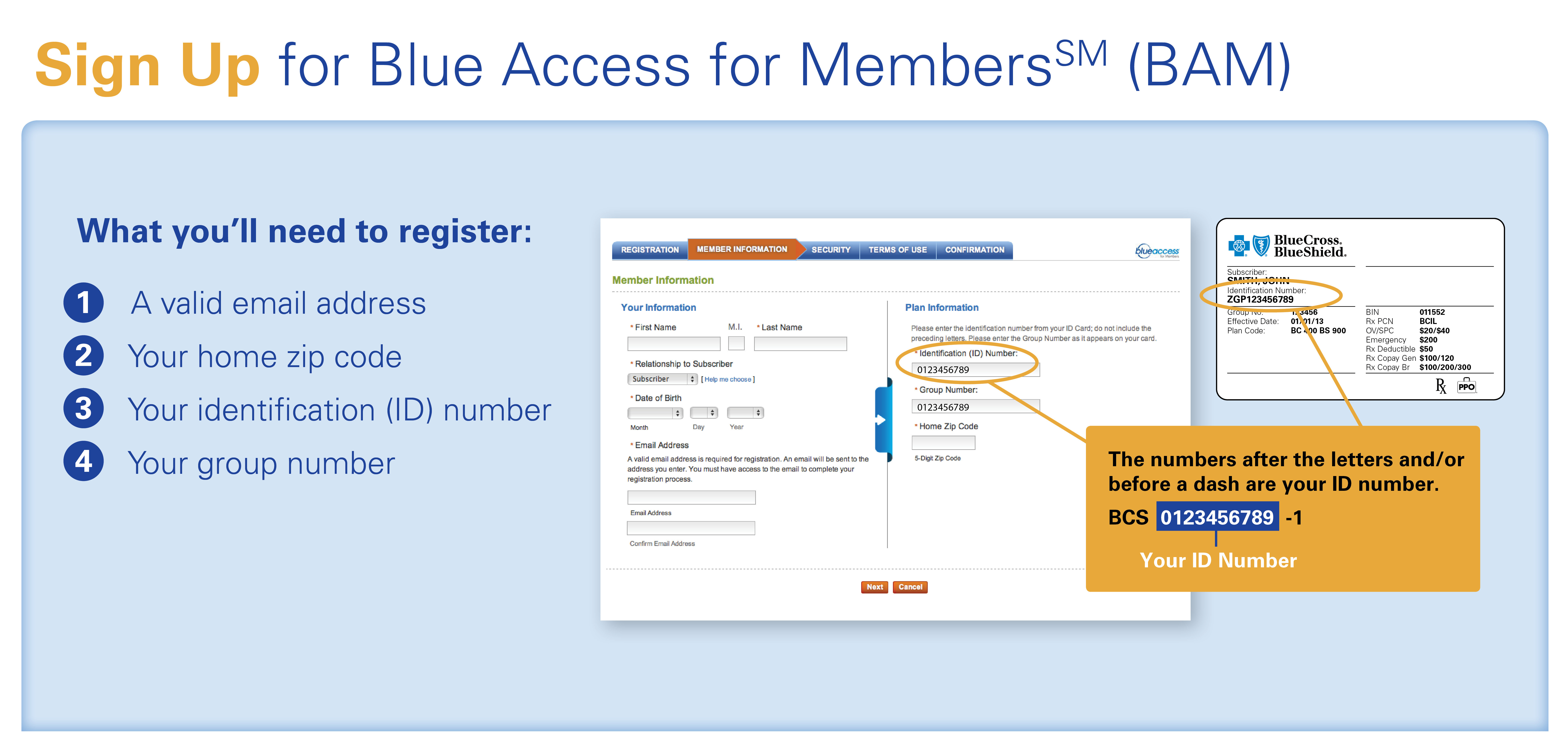 How To Register Ask Bcbstx Ask Bcbstx Blue Cross And Blue