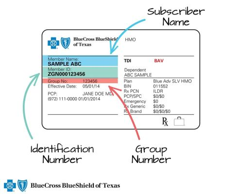 What's My Member ID Number? - Ask BCBSTX - Ask BCBSTX ...