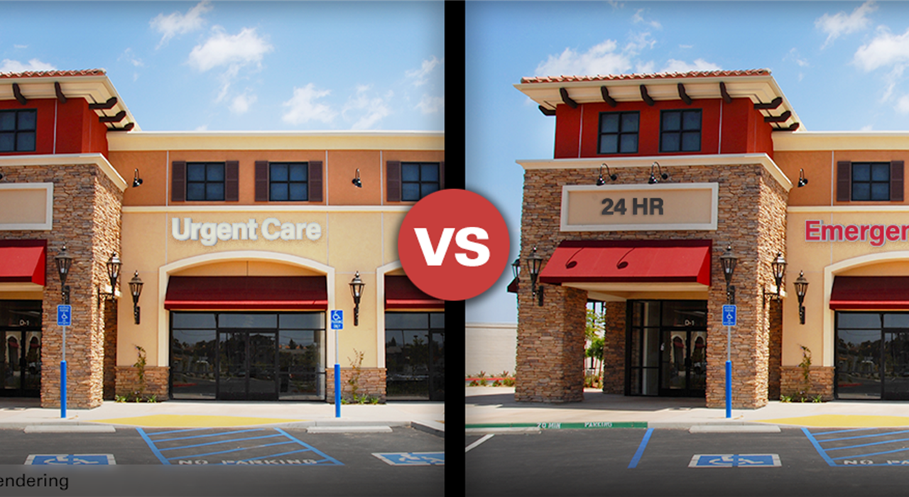 What happens when an urgent care center becomes a freestanding ER?